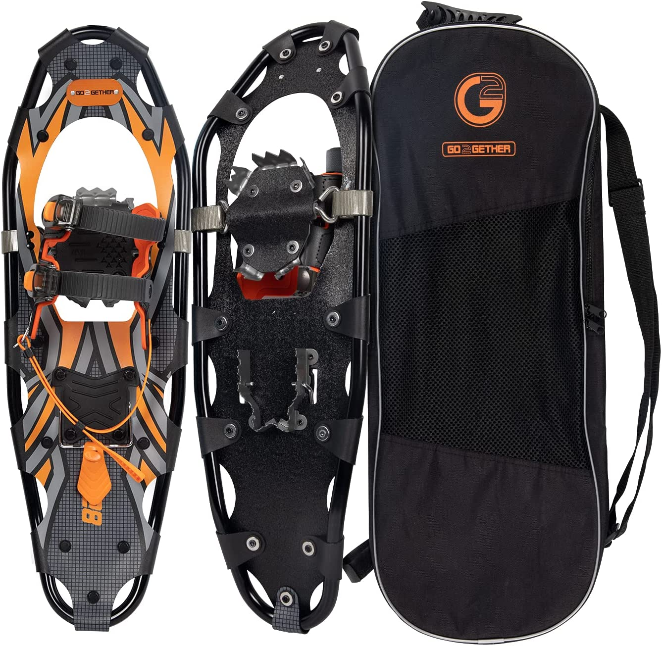 21/25/30 Inches Light Weight Snowshoes for Women Men Youth Kids,