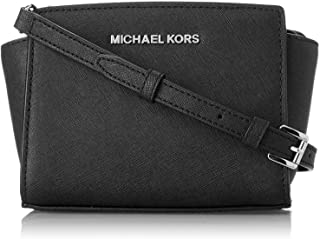 9a6ca865914e Michael Kors Selma Mini Saffiano Leather Crossbody Bag