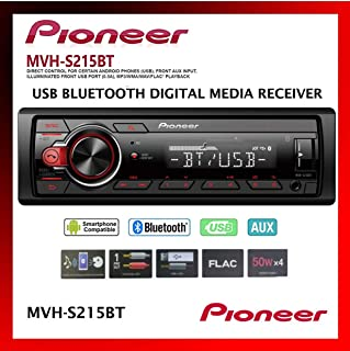 $139 » Pioneer Single Din Built-In Bluetooth, MIXTRAX, USB, Auxiliary, Pandora, Spotify, iPhone, Android and Smart Sync App Compa...