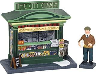 Department 56 Christmas in The City Village Accessories News Evening Edition Figurines, 3.75