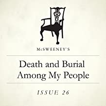 Death and Burial Among My People