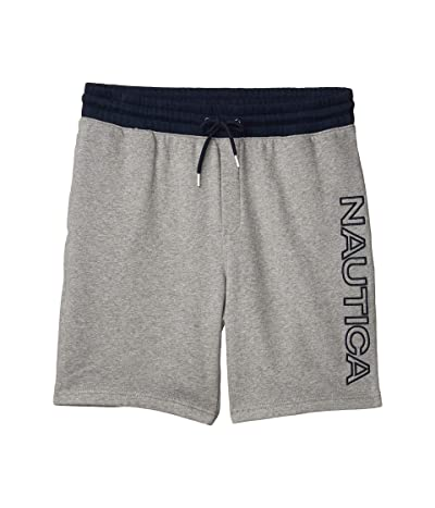 Nautica Logo Knit Shorts (Black) Men