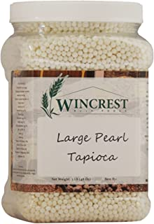 Large Pearl Tapioca - 3 Lb Tub