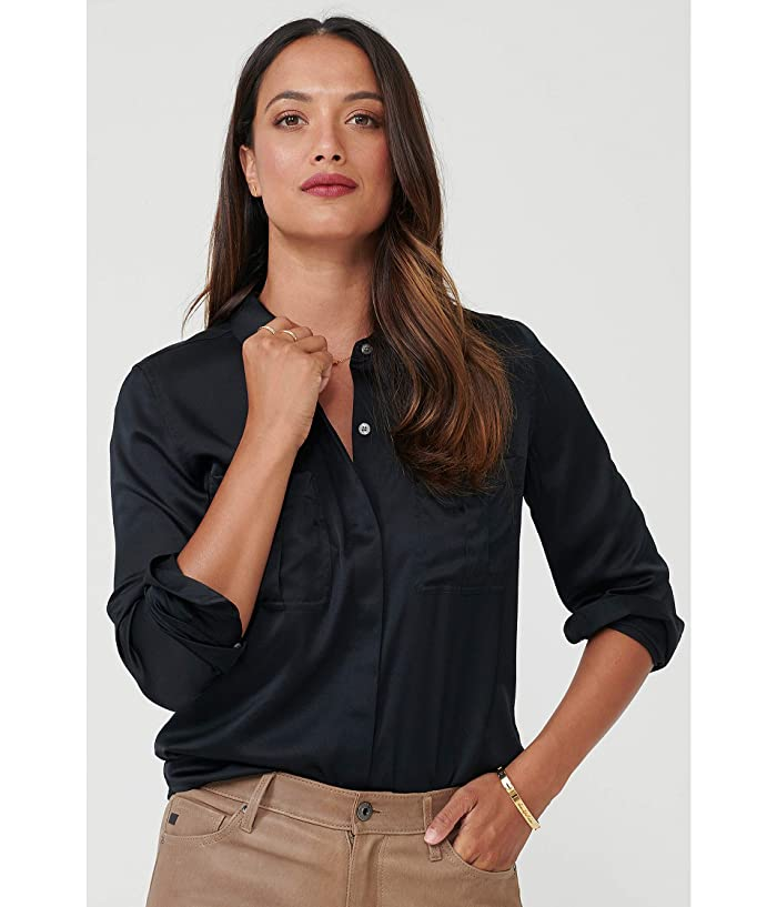 Untuckit Carlina Eco Friendly Stretch Silk Button-up Blouse - Ropa Camisas Y Tops