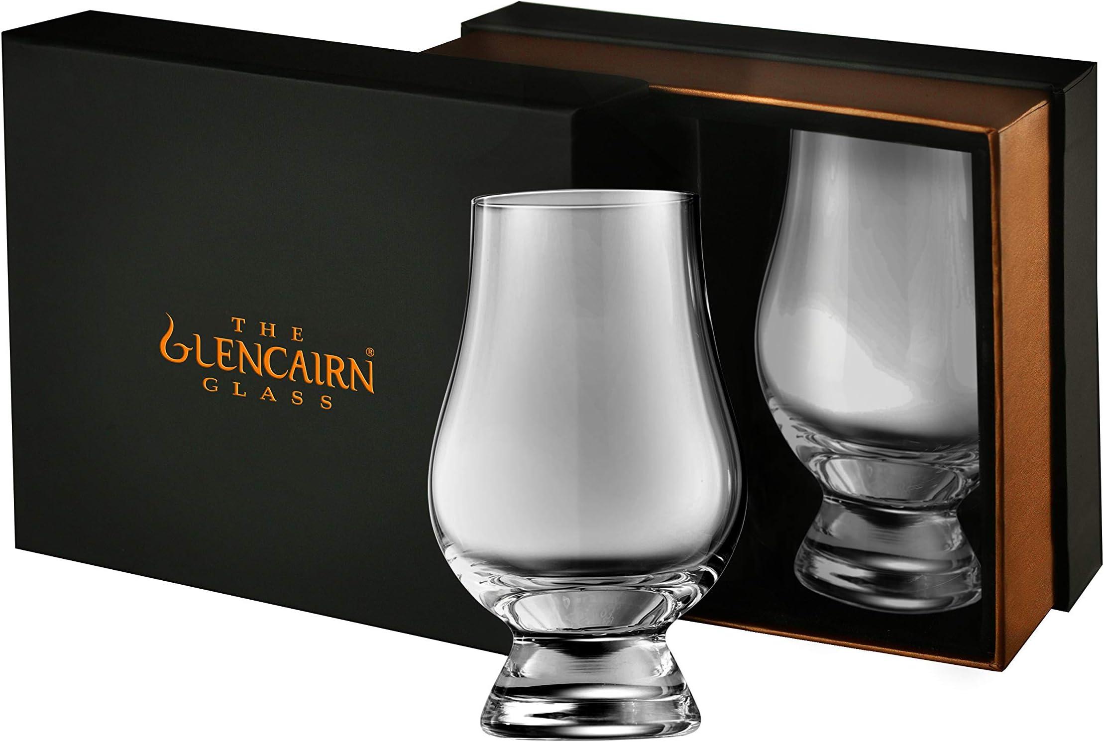 2 x Glencairn Whisky Glass in Presentation Box
