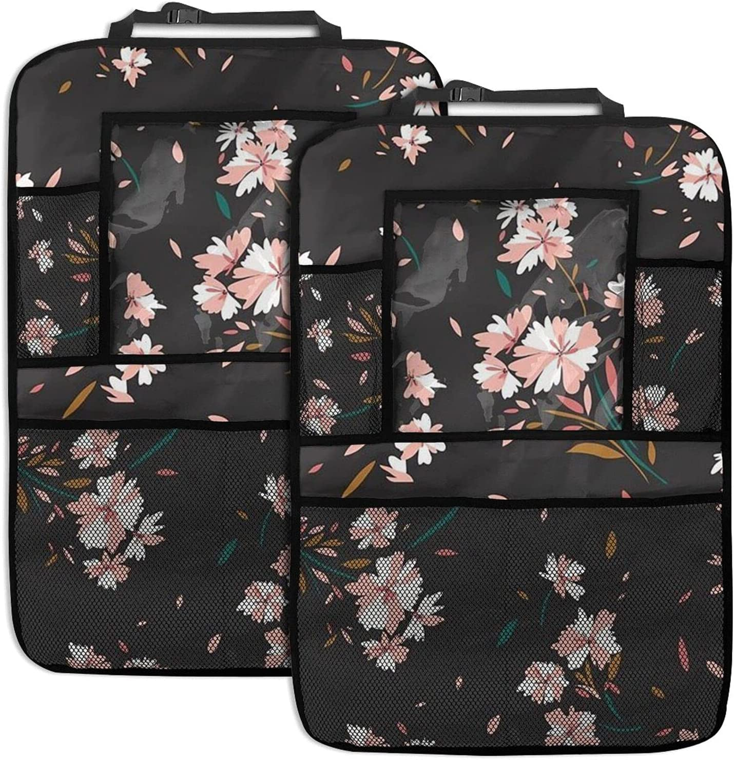 Cherry Blossoms 2 San Antonio Mall Pack Car Pocket Seat Net shopping Storage Organizer