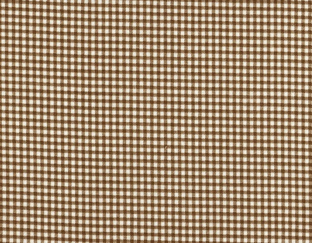 Popular standard Close to Custom Linens French excellence Check Country Gingham Brown Suede