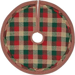 VHC Brands Christmas Holiday Decor-Reed Mini Tree Skirt, 21