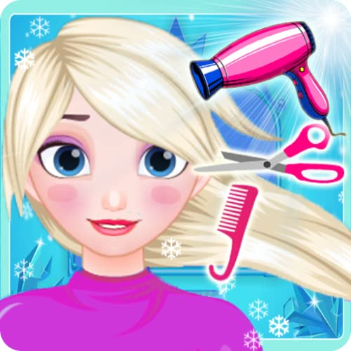 Snow Queen Hair Salon - Hairstyles Dressup Girls Game
