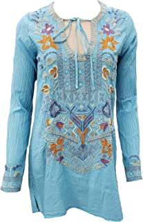 Johnny Was Oaklyn Cotton Blouse - B14719-2