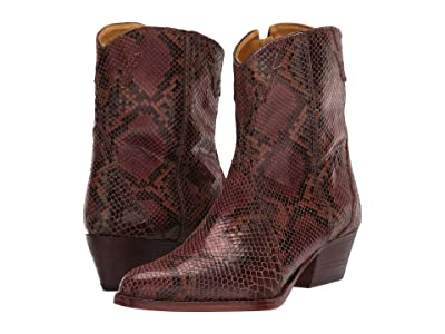 Free People New Frontier Western Boot (Brown Combo) Women