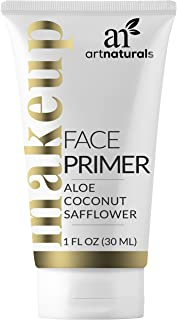 ArtNaturals Natural Face Makeup Primer Hydrating Foundation - (1 Fl Oz / 30ml) - Facial That Is Long Lasting - for Wrinkles, Oily Skin, and Pore Size - Aloe Vera, Coconut Oil and Safflower Oil