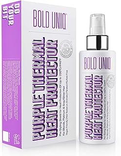 Spray per Capelli Termo Protettivo - Spray Capelli Termoprotettore - Specifico per Capelli Biondi, Platino, Argento, Grigi...