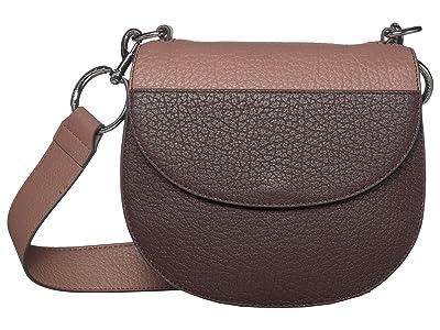 Vince Camuto Mell Crossbody (Black Cherry) Handbags
