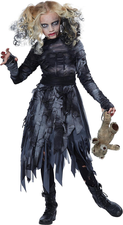 Zombie Girl Girls Costume Size M