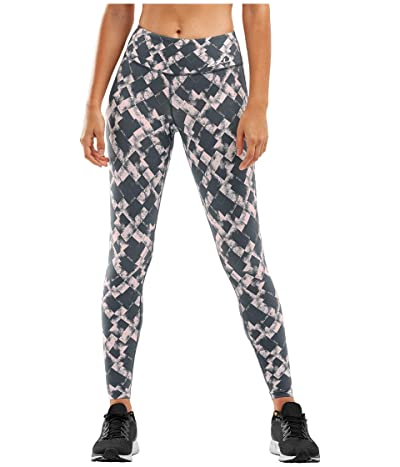 2XU Fitness Print Compression Tights (Textured Blossum Check/White) Women