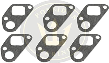 Exhaust manifold gasket for Volvo Penta D41 42 43 44 D300 RO: 838673 876144 X6
