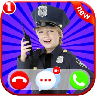 Instant Fake Voice Call From Police 🚔 Kids - Fake Chat Game Simulator And Fake Voice Game Calls ID PRO - PRANK FOR KIDS (...
