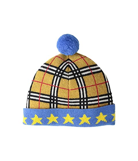 Burberry Kids Check Hat (Little Kids/Big Kids)