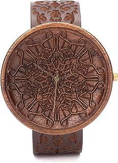 Relojes De Madera Para Hombres, Caja de Madera Natural, Reloj Ligero y Elegante, Madera De Nogal, Ovi Watch, Wooden Watch