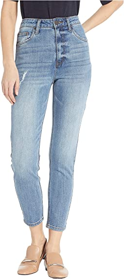 Sophia Step-Mom Jeans in Coneflower