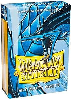 Dragon Shield Matte Mini Japanese Sky Blue 60 ct Card Sleeves Individual Pack