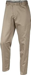 Nike Course Enemies Selvedge Chino Men's Golf Pants, Khaki/Treeline, 32W x 32L