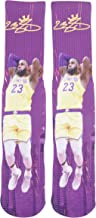 Forever Fanatics Lebron James #23 Basketball Crew Socks ✓ Lebron James Autographed ✓ One Size Fits 6-13 ✓ Ultimate Basketb...