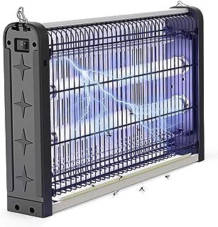 JBHOO Lámpara Antimosquitos 20W Lámpara Mata Insectos con UV luz Ultravioleta Atrayente, Insecticida Trampa para Insectos para Moscas, Mosquitos para Jardines de Dormitorios Interiores