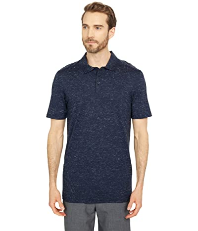 Smartwool Everyday Exploration Merino Polo (Deep Navy Heather) Men