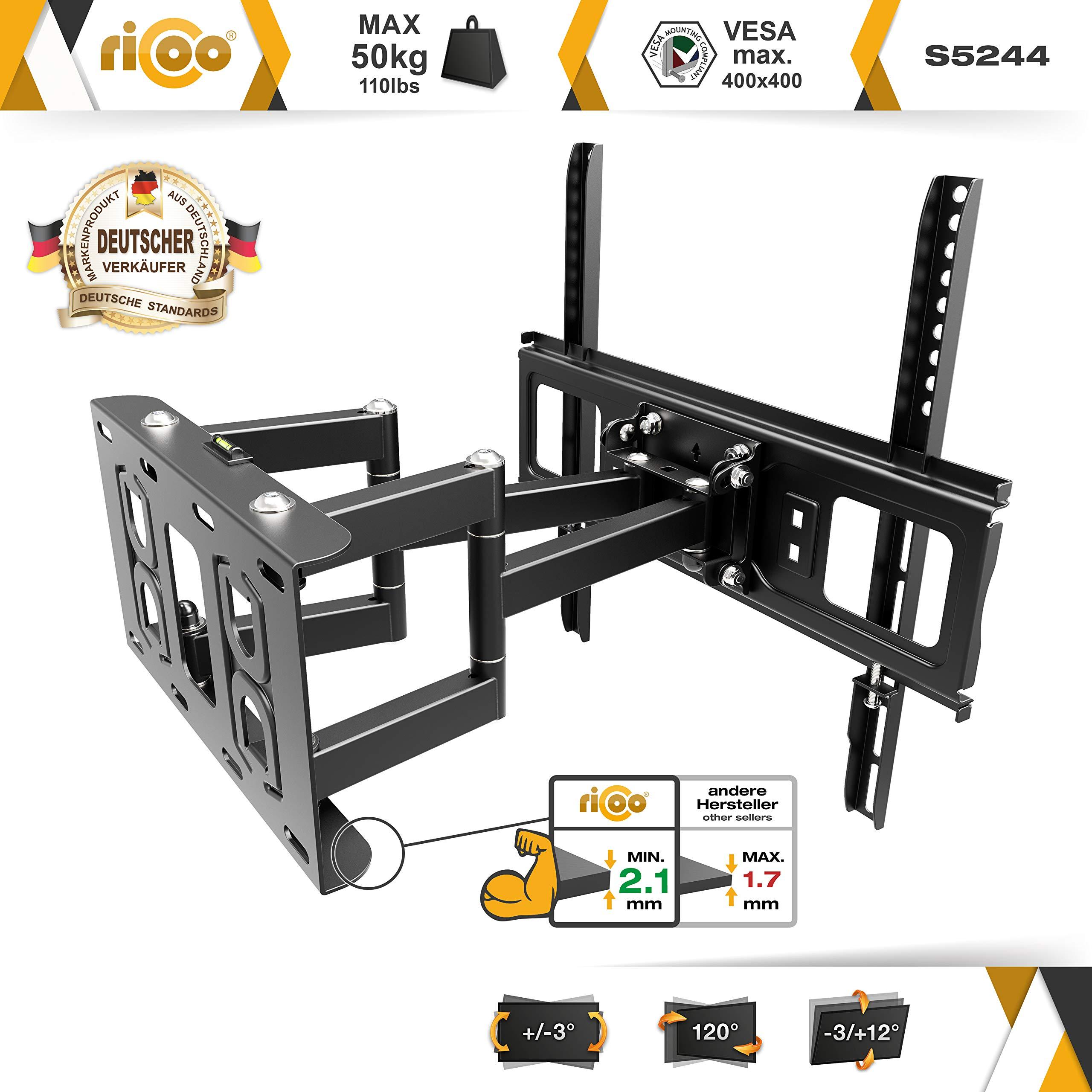 RICOO S5244, Soporte TV Pared, Giratorio, Inclinable, Televisión ...