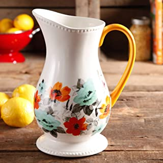 The Pioneer Woman Flea Market Decorated Floral 2-Quart Pitcher