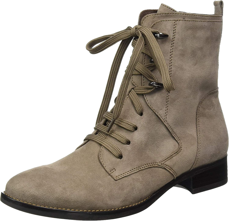 CAPRICE Women's Klassisch Ankle Boot Suede Mud US 7.5 Popular brand in the [Alternative dealer] world