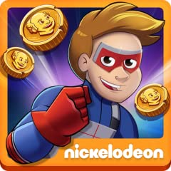 Play a REAL game from Nickelodeon's hit shows: GAME SHAKERS and HENRY DANGER! Punch nonstop through time! Warp through 5 worlds to beat Swellview's most notorious bad guys! Power up as Kid Danger or Captain Man! Collecting coins and upgrading gear fe...