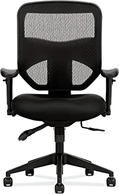 Hon Prominent High Back Task Chair Mesh Computer Chair With Arms For Office Desk Amazon De Kuche Haushalt