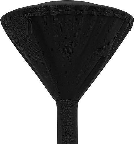 Amazon Basics Housse pour parasol chauffant rond, Noir