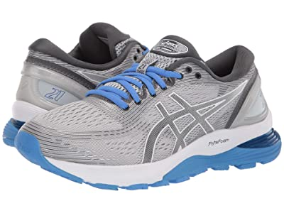 ASICS GEL-Nimbus(r) 21 (Mid Grey/Dark Grey) Women