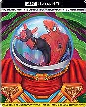 Spider-Man: Far from Home (Steelbook) (4K UHD + Blu-ray 3D + Blu-ray + Bonus Disc) (4-Disc Box Set) ASIAN IMPORT