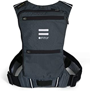 FITLY Minimalist Running Pack (Classy Black, XS-S)