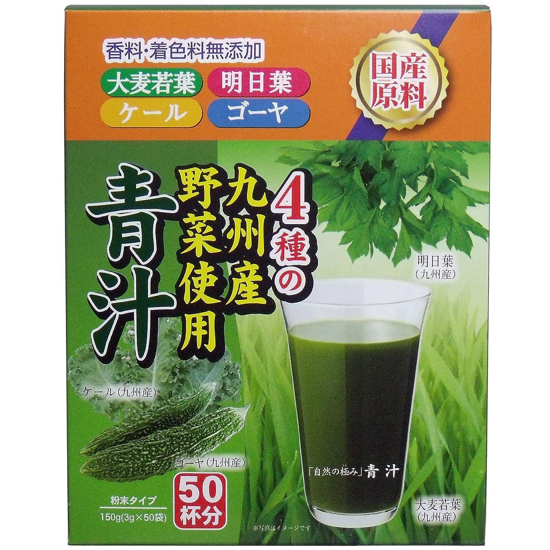 傾向年ストラップ自然の極み 青汁 (九州産野菜使用) 3g×50袋入「4点セット」