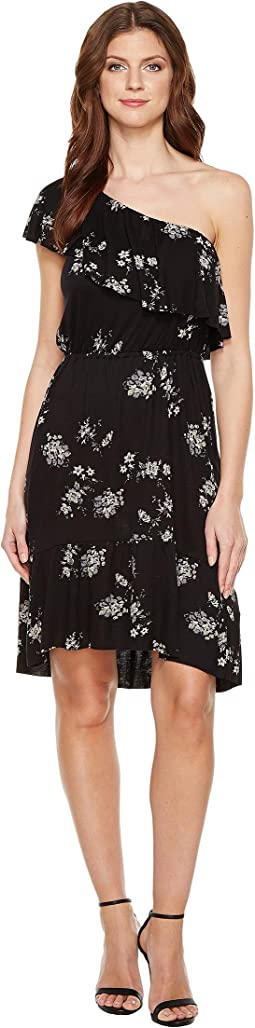Lucky Brand Botanical Ruffle Dress