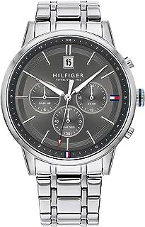 Tommy Hilfiger Reloj Analógico para Hombre de Cuarzo con Correa en Acero Inoxidable 1791632
