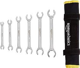 AmazonBasics Flare Nut Wrench Set – SAE, 6-Piece
