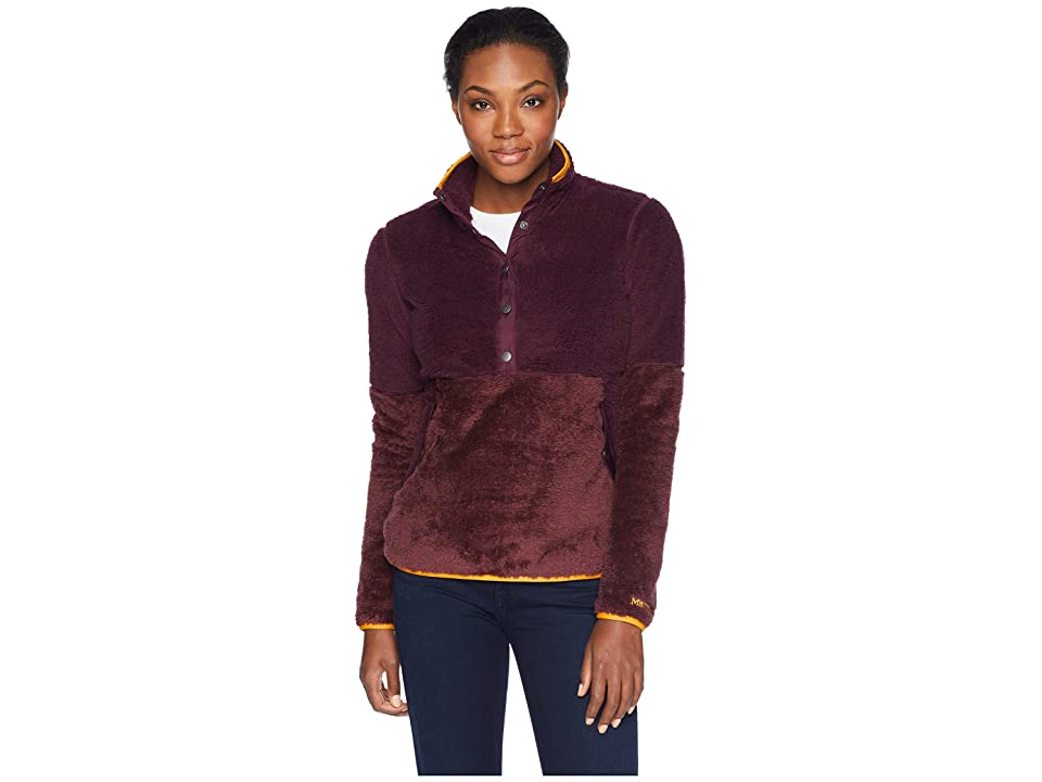 Marmot Lariat Long Sleeve (Dark Purple/Burgundy) Women