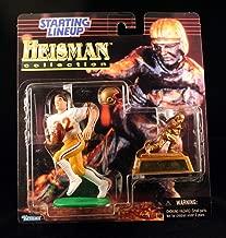 DOUG FLUTIE / BOSTON COLLEGE EAGLES * 1997 NCAA College Football HEISMAN COLLECTION Starting Lineup Action Figure, Football Helmet & Miniature 1984 Heisman Memorial Trophy