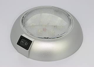 Battery Powered LED Dome Light - Magnetic or Fixed Mount - High Power White LED Downlight for Home, Auto, Truck, RV, Boat and Aircraft