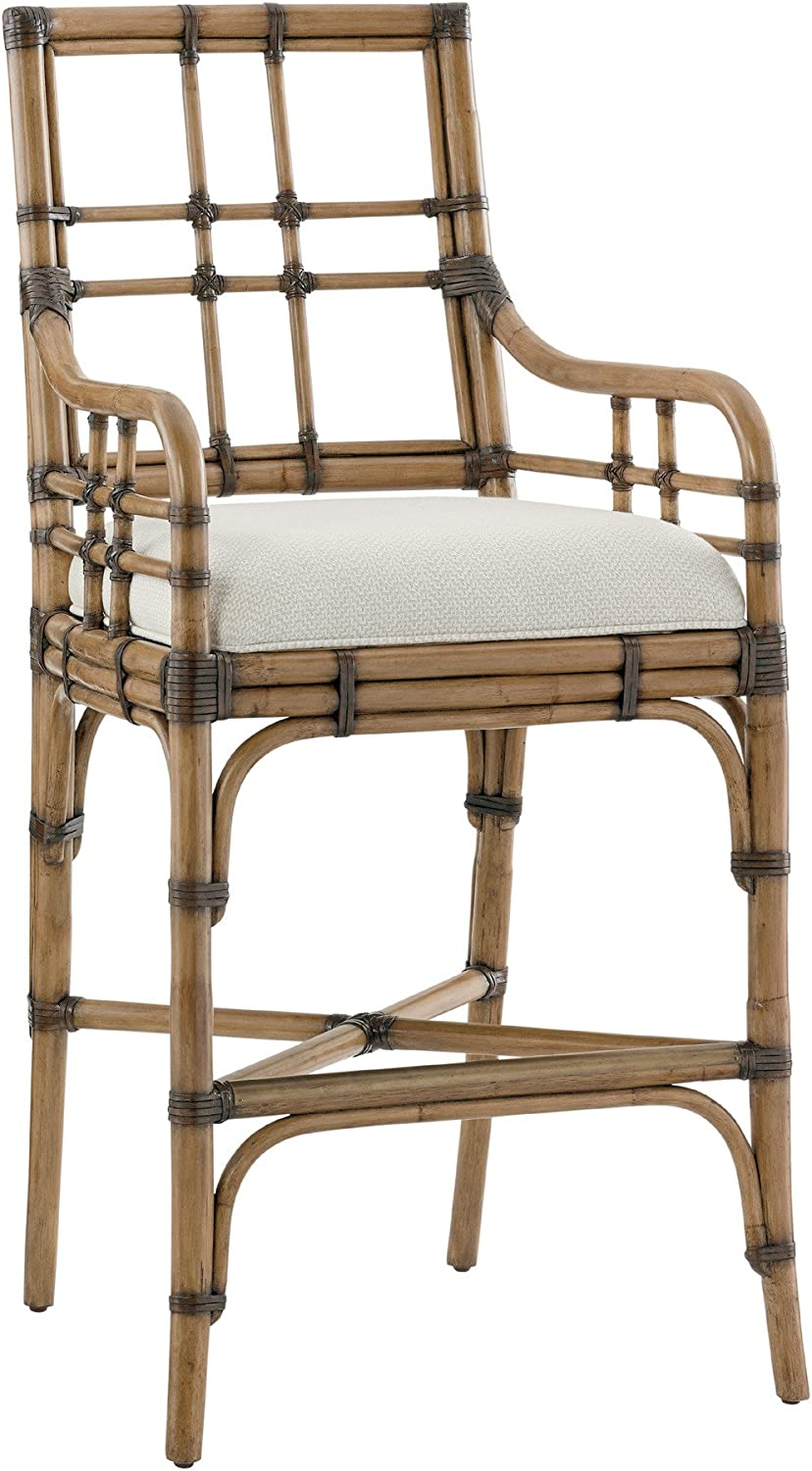Tommy Cheap mail order specialty store Bahama Twin Palms Lands End Bar Stool Topics on TV Brown 30.25