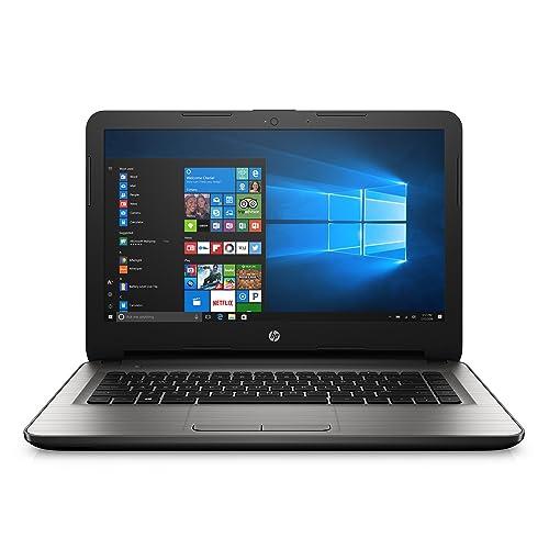 HP 14-inch Laptop, AMD E2-7110, 4GB RAM, 32GB eMMC, Windows 10 (14-an013nr, Silver)