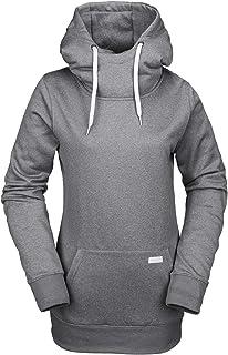 Volcom Women's Yerba Pullover Baselayer Hydrophobic Fleece Hoodie