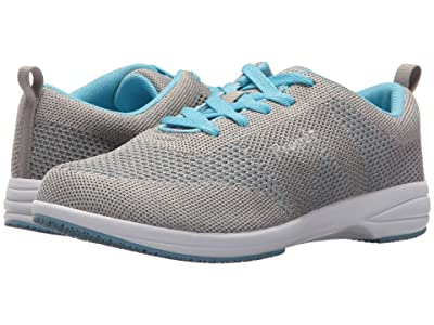 Propet Washable Walker Evolution (Light Grey/Light Blue) Women